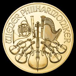 Gouden Philharmoniker 1/2 OZ divers jaar