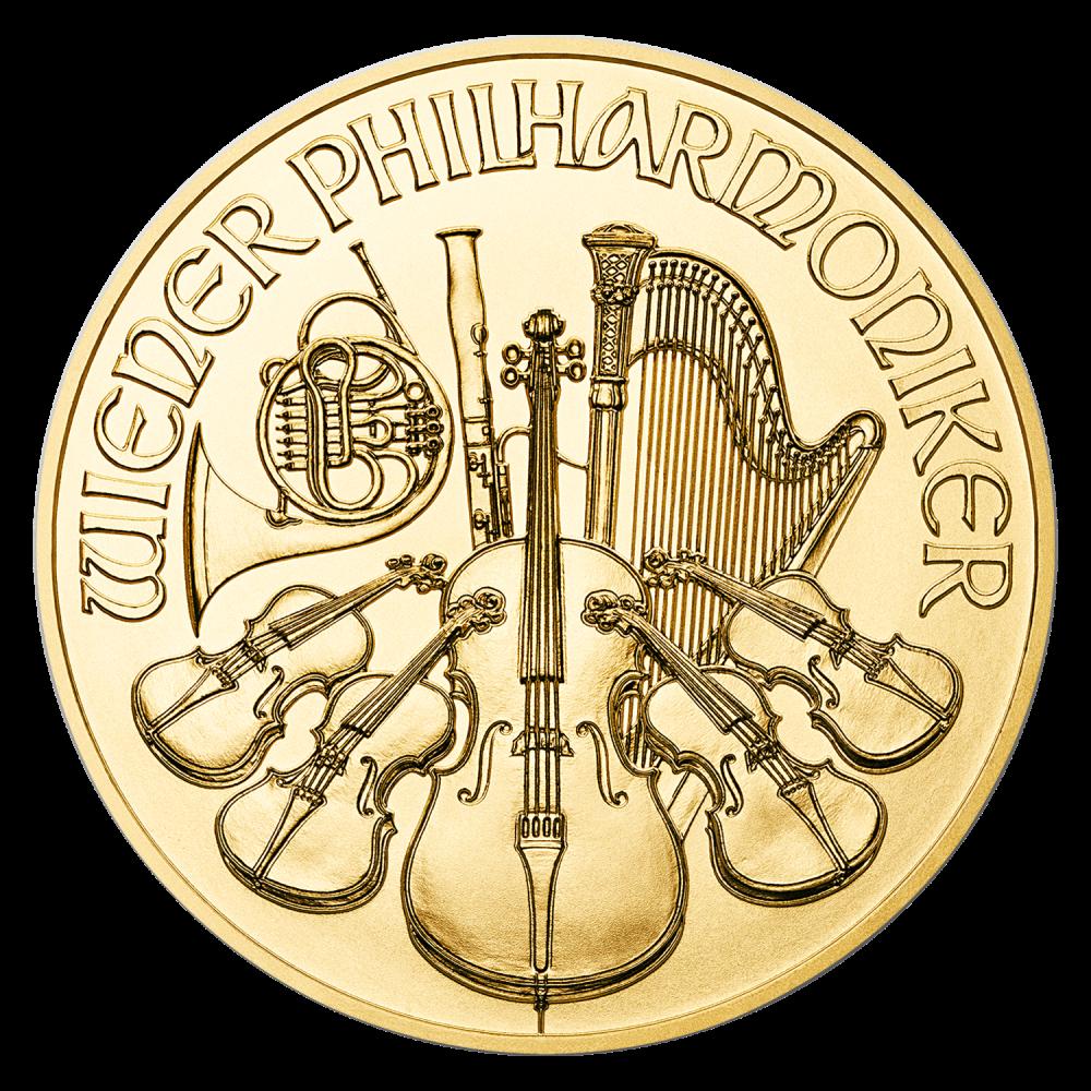 Gouden Philharmoniker 1/4 OZ divers jaar