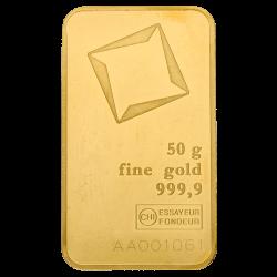 Goudbaar 50 gram diverse producenten