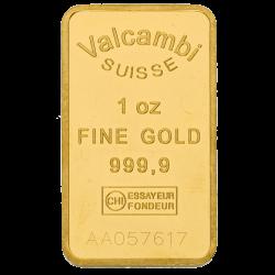 Goudbaar 31,1 gram diverse producenten