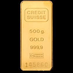 Goudbaar 500 gram diverse producenten