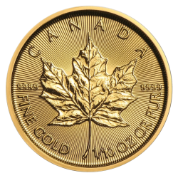 Gouden Maple Leaf 1/10 OZ divers jaar