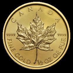 Gouden Maple Leaf 1/2 OZ divers jaar
