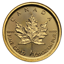 Gouden Maple Leaf 1/20 OZ divers jaar