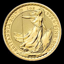 Gouden Brittannia 1 OZ divers jaar