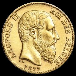 Gouden 20 francs België divers jaar