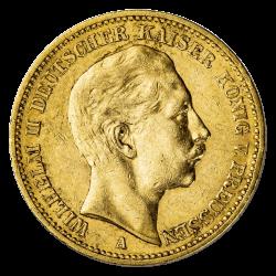 Gouden 20 mark Duitsland divers jaar