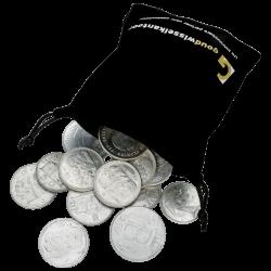 1 KG puur zilveren Francs België diverse jaren