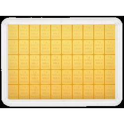 Goudbaar 50x1 gram Valcambi
