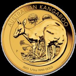 Gouden Kangaroo 1/2 OZ 2021