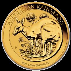 Gouden Kangaroo 1/4 OZ 2021