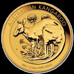 Gouden Kangaroo 1/10 OZ 2021