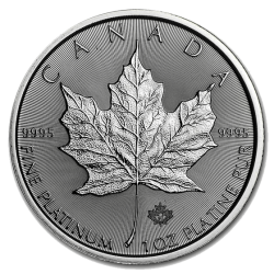 Platina Maple Leaf 1 OZ 2021