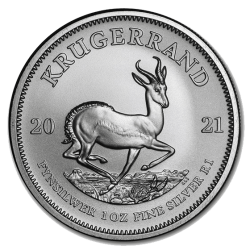 Zilveren Krugerrand 1 OZ 2021