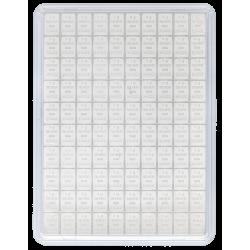 Zilverbaar 100 x 1 gram Valcambi