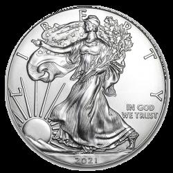 Zilveren American Eagle 1 OZ 2021