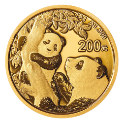 Gouden Panda 15 gram 2021