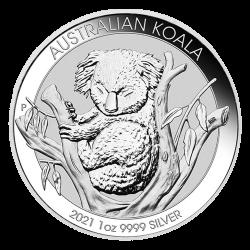 Zilveren Koala 1 OZ 2021